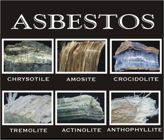 Asbestos comes in many forms